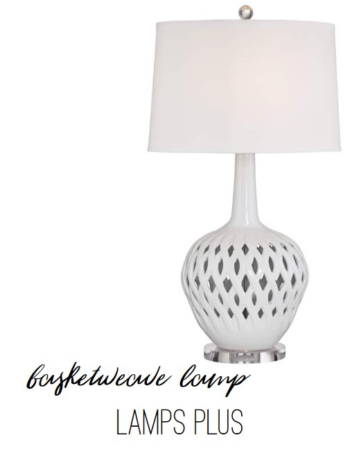 Basketweave Lamp by Lamps Plus