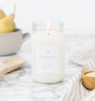 Country Pear Candle by Antique Candle Co.