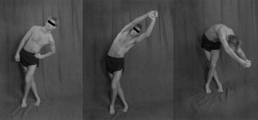 The greatest benefits shown for lengthening the ITB TFL complex have been shown by the middle image which stretched increased the overall length by 11.15%. 3 sets of 30 seconds was used. (Fredericson 2002) *Note: this stretch will also affect the gluteus medius.