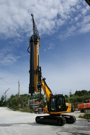 GEAX EK90  Multi-Purpose Piling Rig - CFA Kit Available