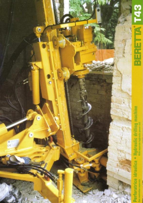 Beretta T43 Hydraulic Drilling Machine Brochure
