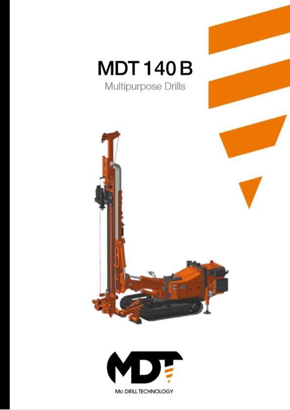 MDT 140 B Multipurpose Drills Brochure