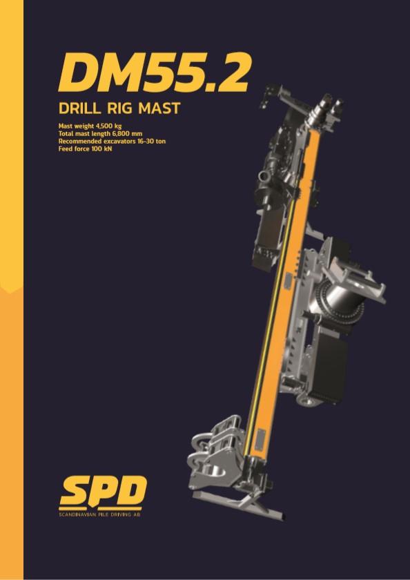 DM55.2 Drill Rig Mast Brochure