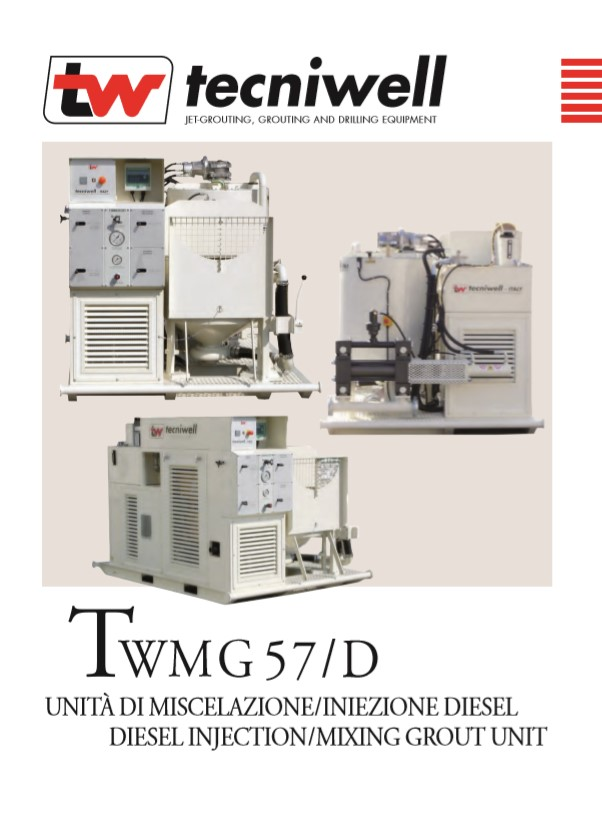 TWMG 57D Diesel Injection Mixing Grout Brochure