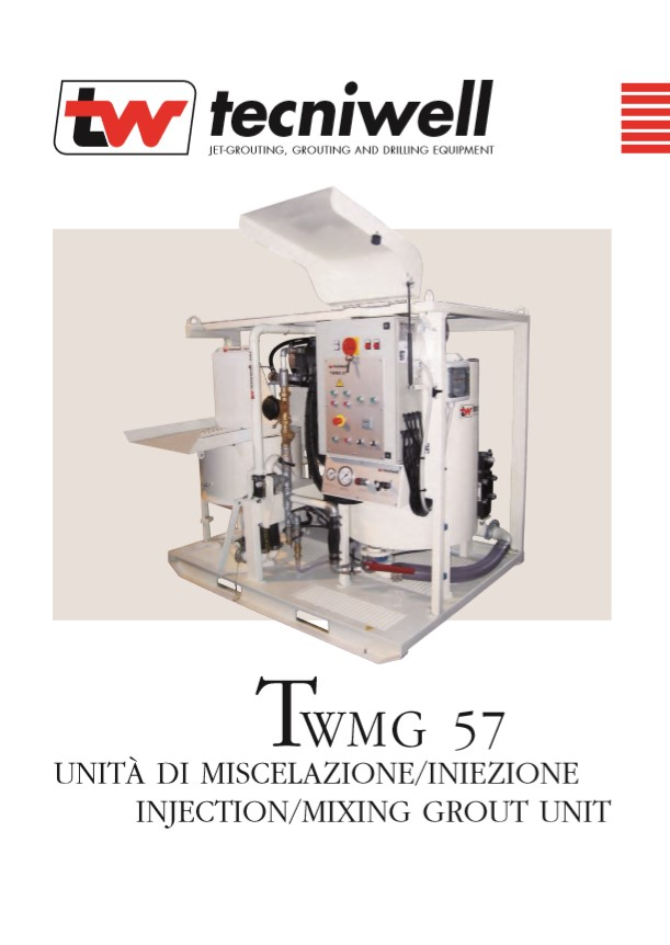 TWMG 57E Injection Mixing Grout Brochure