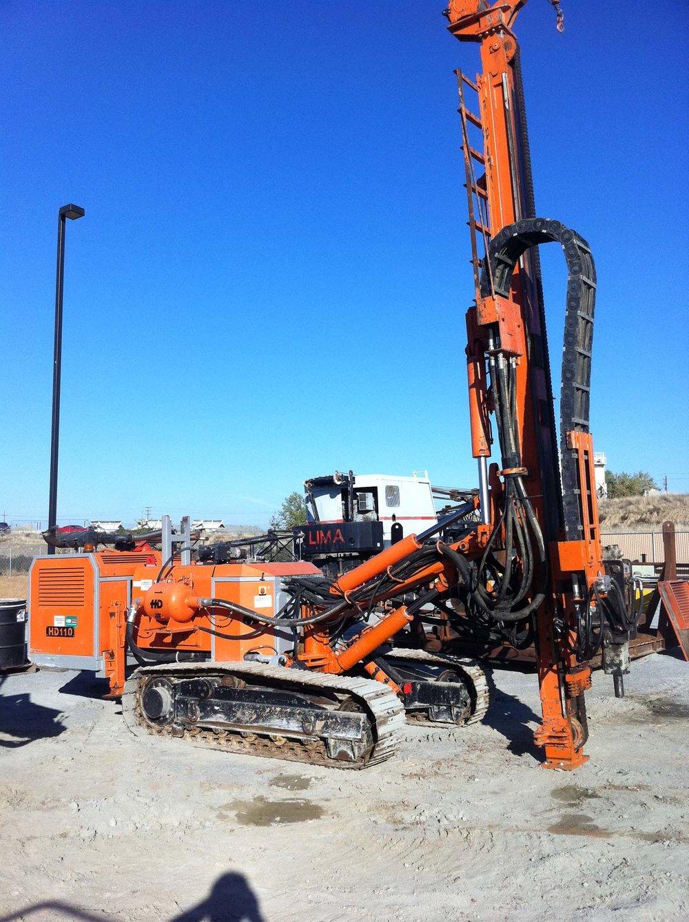 HD110  Hydraulic Crawler Drill