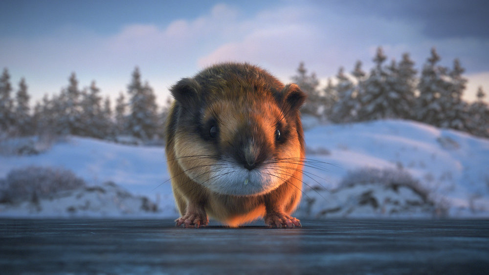 The Lemming – This is the focus of our protagonist's dream. Throughout the film, the arctic fox's singular goal is to capture this elusive lemming, who always seems to be just out of reach