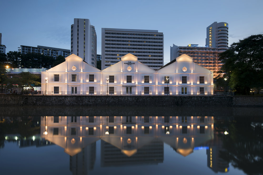 The Warehouse Hotel_Evening Facade Straight_High Res.JPG