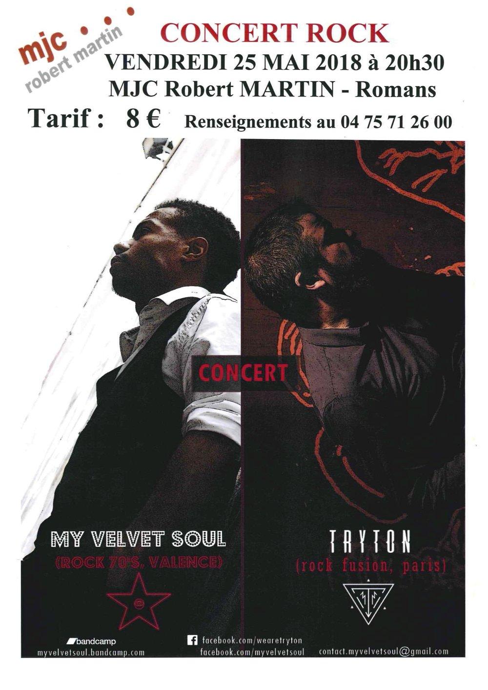 Affiche concert My Velvet Soul & Tryton du 25 mai 2015.jpg