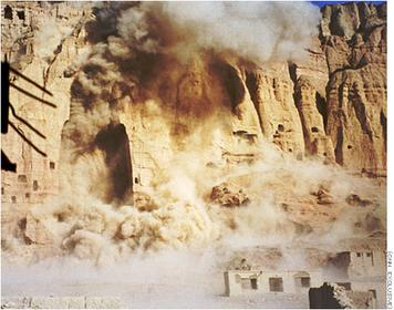 Bamiyan. Picture courtesy of the Taliban.