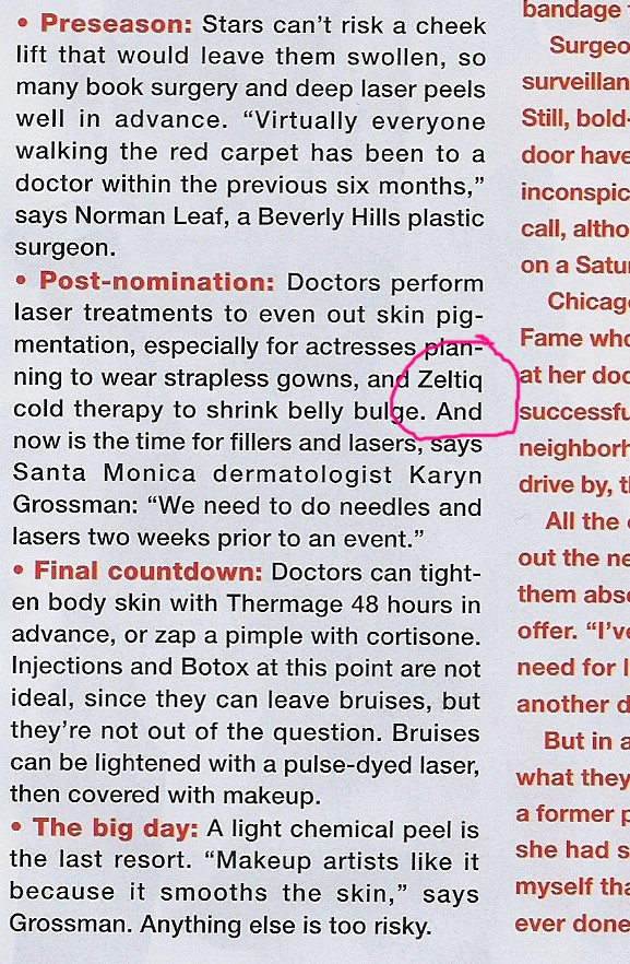 January 2012 Allure issue
