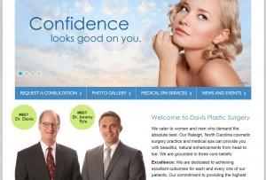 Raleigh surgeons launch new website at www.drgmdavis.com