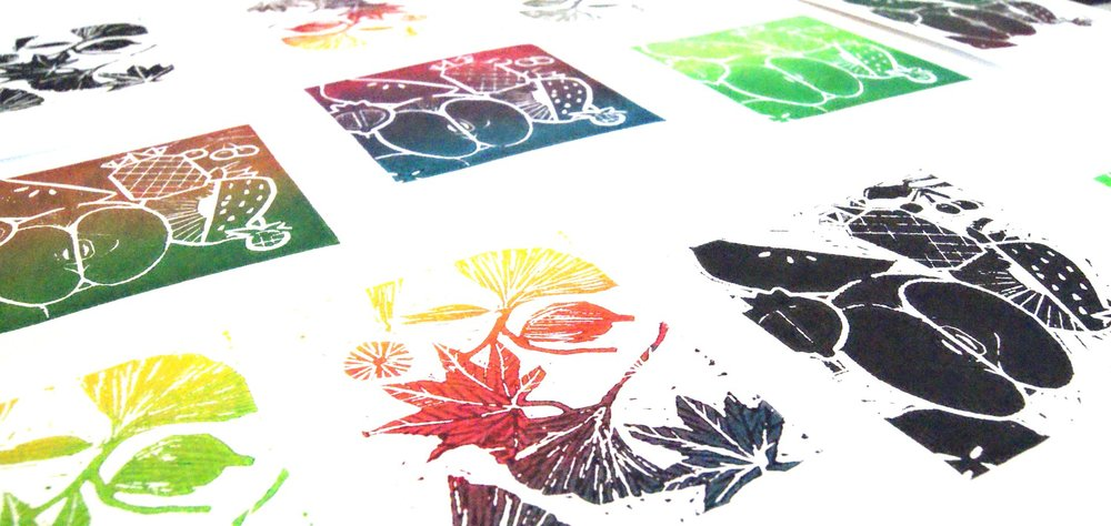 Printmaking (Lino)