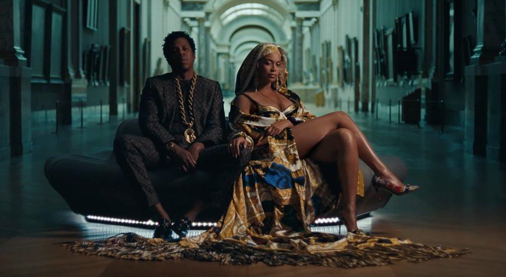 The Louvre - Beyonce + Jay Z
