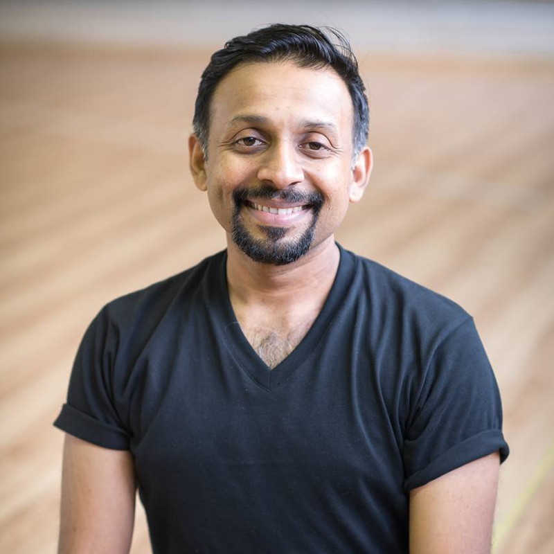 Parveen Nair (Malaysia), E-RYT500 & YACEP of Yoga Alliance   Parveen is best known for helping students and teachers embody spiritual practices in yoga. He has refined methods of teaching in the Advaita Vedanta school of thought. His non-dualistic approach towards yoga has allowed students to build authentic yoga practices. Parveen's passion for Iyengar yoga emphasizes precision, alignment and yoga sutras. Parveen has spent years studying under Karin O'Bannon (senior Iyengar yoga teacher) and later directly under Guru BKS Iyengar. Parveen founded Swarupa Iyengar Yoga Studio and Yoga Sadhana in Malaysia. His innate interest in self-realization has made him a devoted student of Advaita Vedanta philosophy. Parveen is inspired by teaching of Sri Ramana Maharishi and Sri Nisargadatta Maharaja. He is also a classical Indian dance performer.