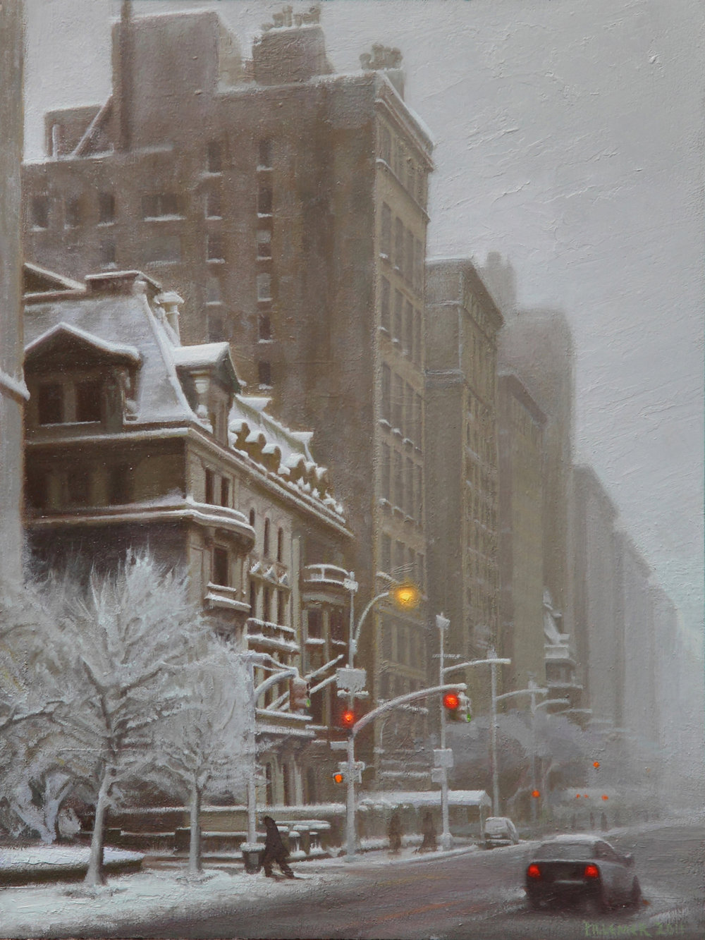 Fifth Avenue in Winter