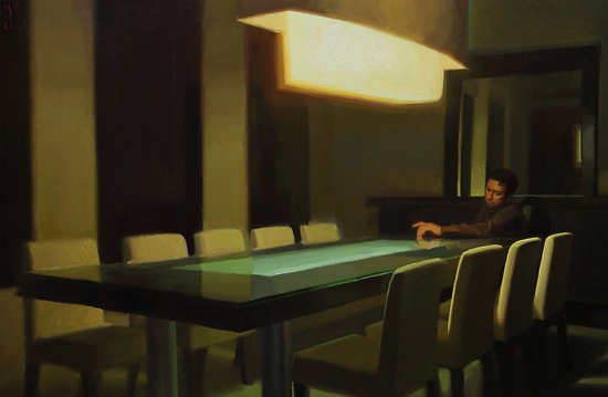 Alone at Table