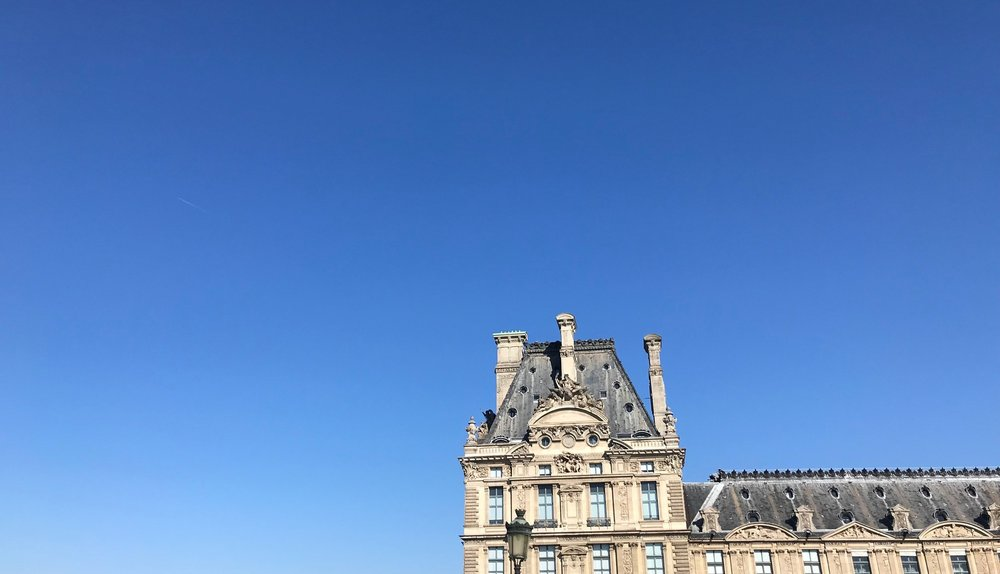 This is the Louvre. It's a pretty misleading photo to use for a blog on accommodation in Paris because I think they'd frown on your trying to live here (and can you imagine how much it'd cost you to heat this place?!)