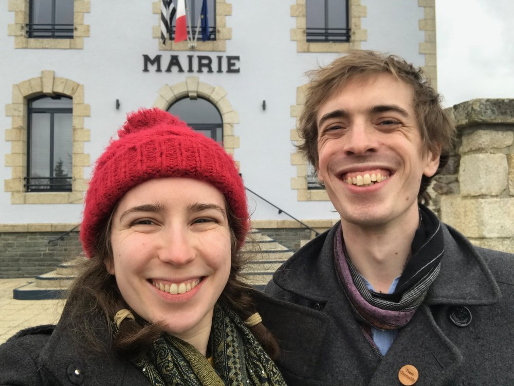 Even the smallest hamlets in Bretagne have a Mairie building, and 100% of them are picturesque