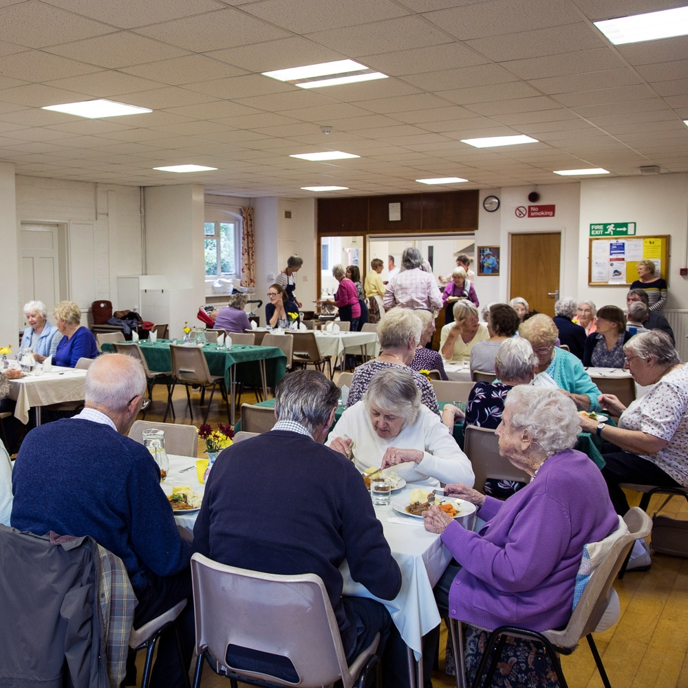 Sunday Lunch Club - 12.30pmThe first Sunday of the monthSt Mildred's Church Hall, Church Road, TenterdenA delicious Sunday lunch for those who live alone.
