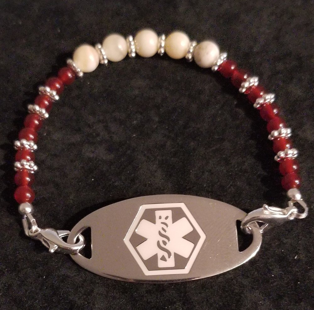 Medical Alert Bracelets to fit your style . (Medical Alert tag not included) $35 each