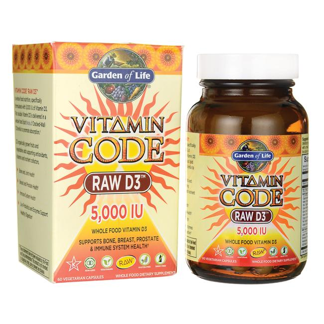 If you are deficient in Vitamin D, I recommend supplementing with Garden of Life Raw Vitamin D, available in our store at OWC