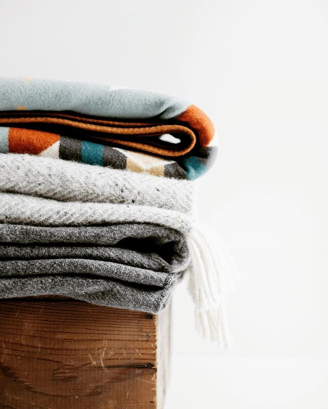 Welcoming the chill that comes with fall. Collecting blankets from my travels means I brought my memories home with me and share them with guests. . What do you collect?