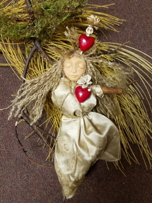 2018 Love Hoodoo Doll, by Marcia Hahn, SOLD