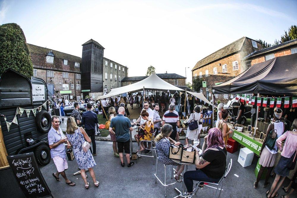 The 2018 Wilton Village Shopping Gin Festival