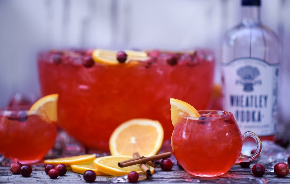 Cran Holiday Punch -