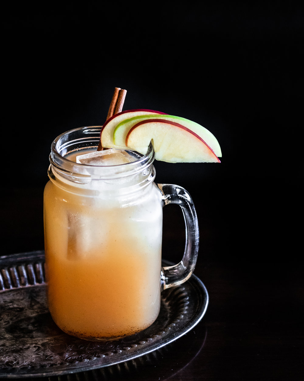 White apple sangria -