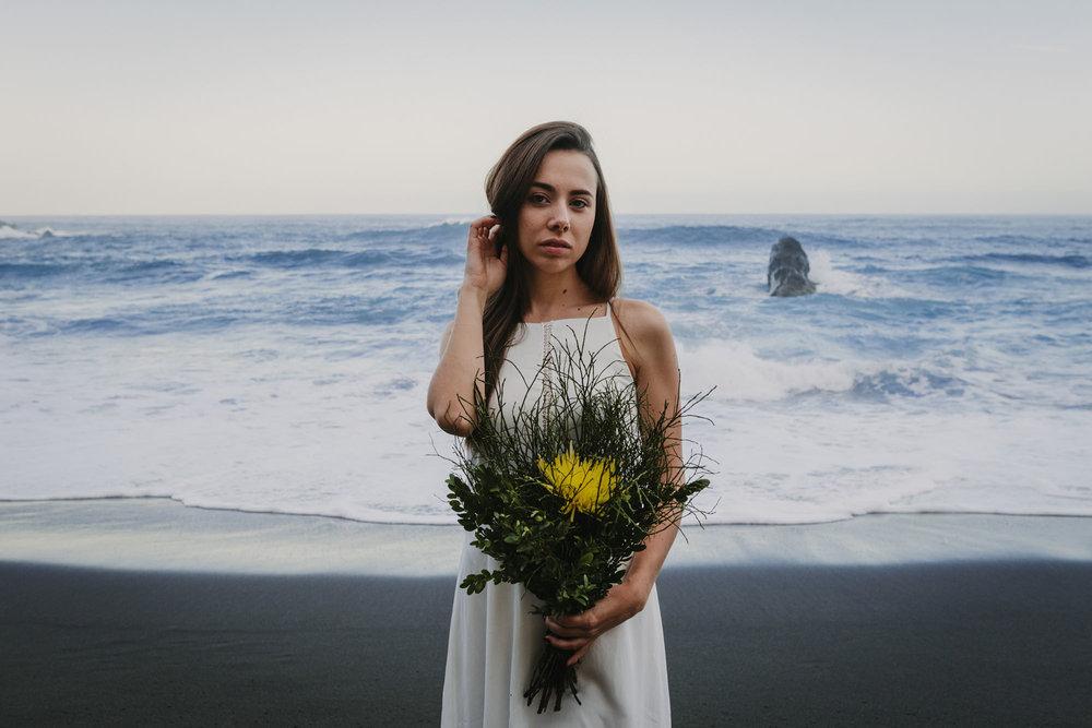 Inspiración novias en Playa Bollullo Tenerife
