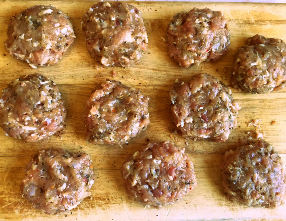 tablavie.com Sausage patties
