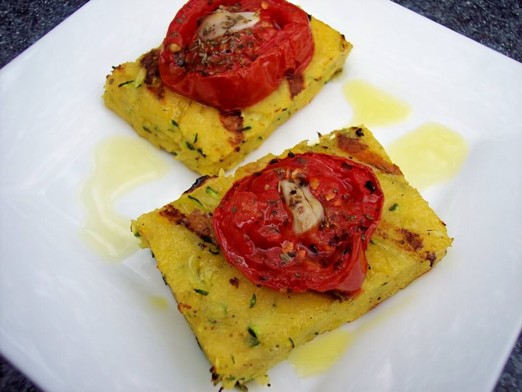 From Proud Italian Cook Grilled Polenta