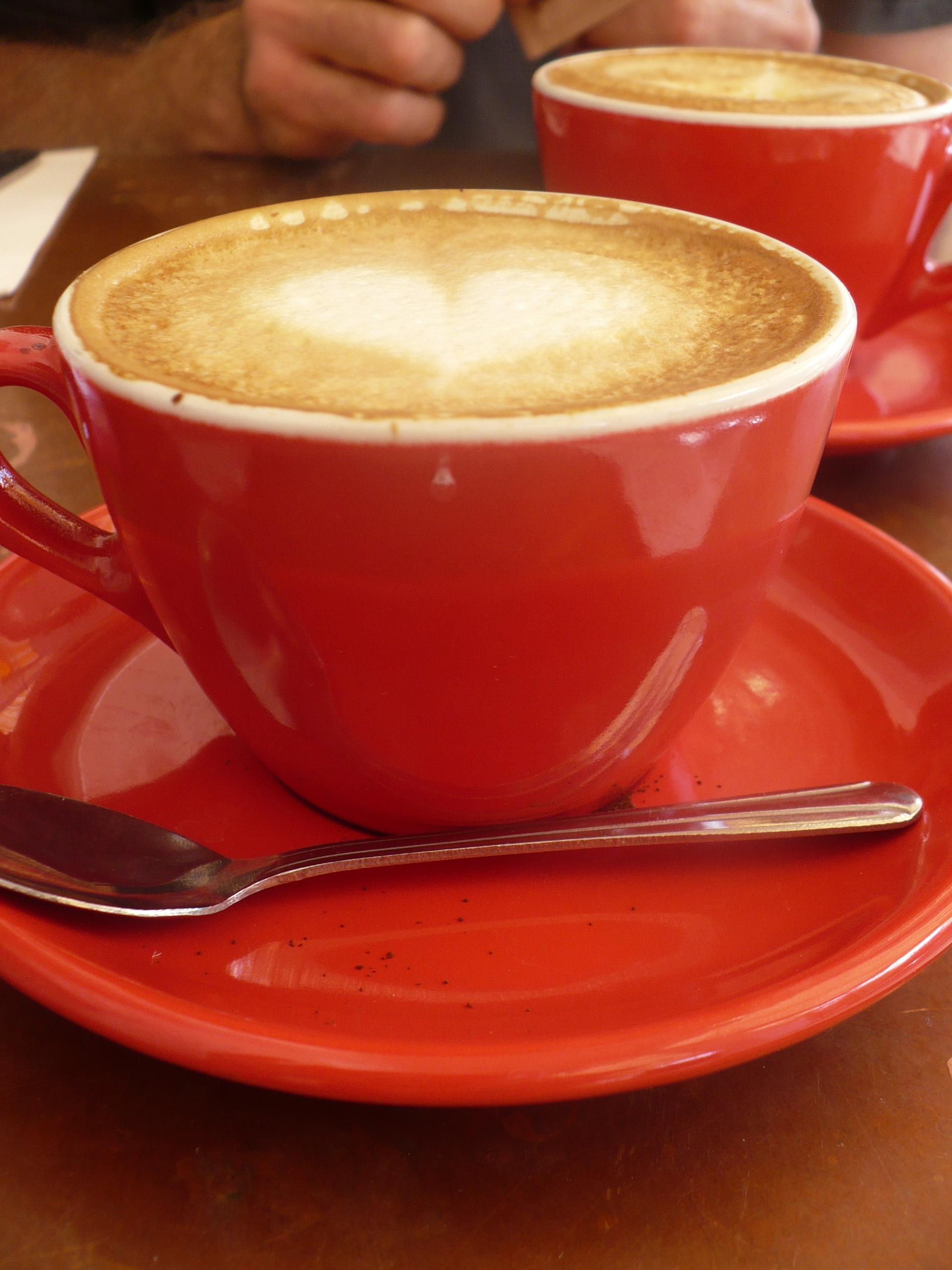 Cafe Creme + Strawberry Jam = Breakfast
