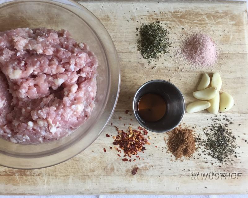 tablavie.com DIY Sausage ingredients