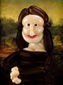 Balloona Lisa by Larry Moss