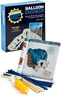 Balloon Engineer just went on sale at B&N. Larry's newest book, included in a kit with a pump and balloons, has instructions for ten famous landmarks, from Niagara Falls to the Great Sphinx.