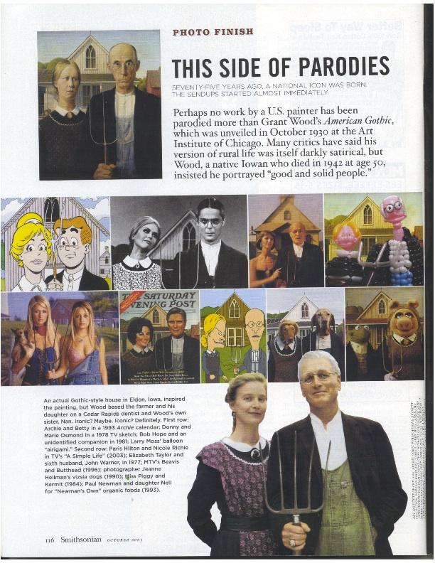 Smithsonian Magazine, American Gothic Parodies