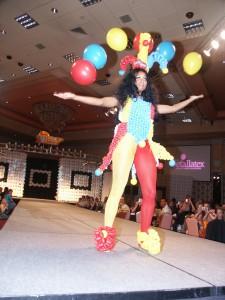 balloon jester costume