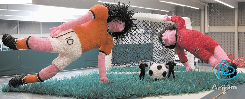 Airigami_Soccer Players