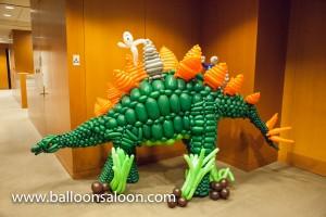 Halloween balloon Stegosaurus by John Reid