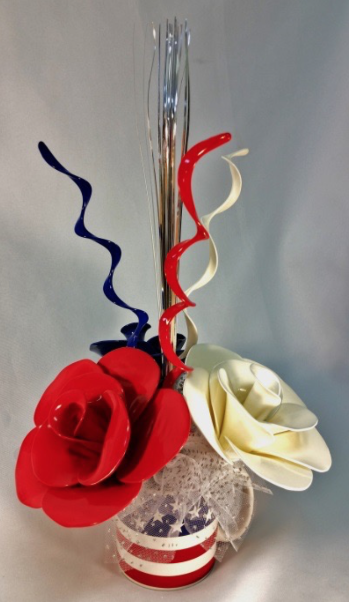 Fourth of July centerpiece by Janice Whitehead