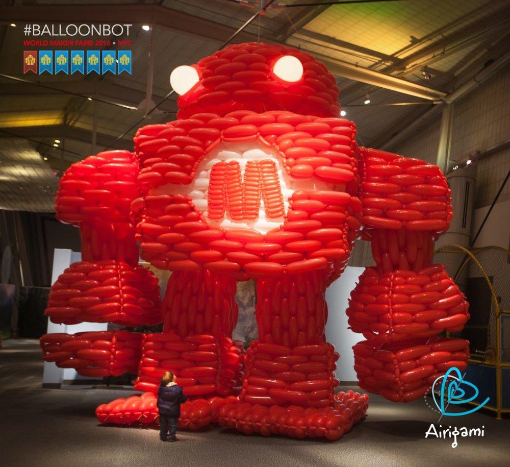 Makey the Maker Faire robot