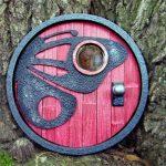 Blue Toucan fairy door