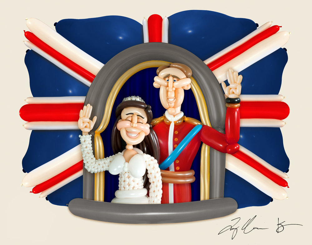 Airigami Royal Couple