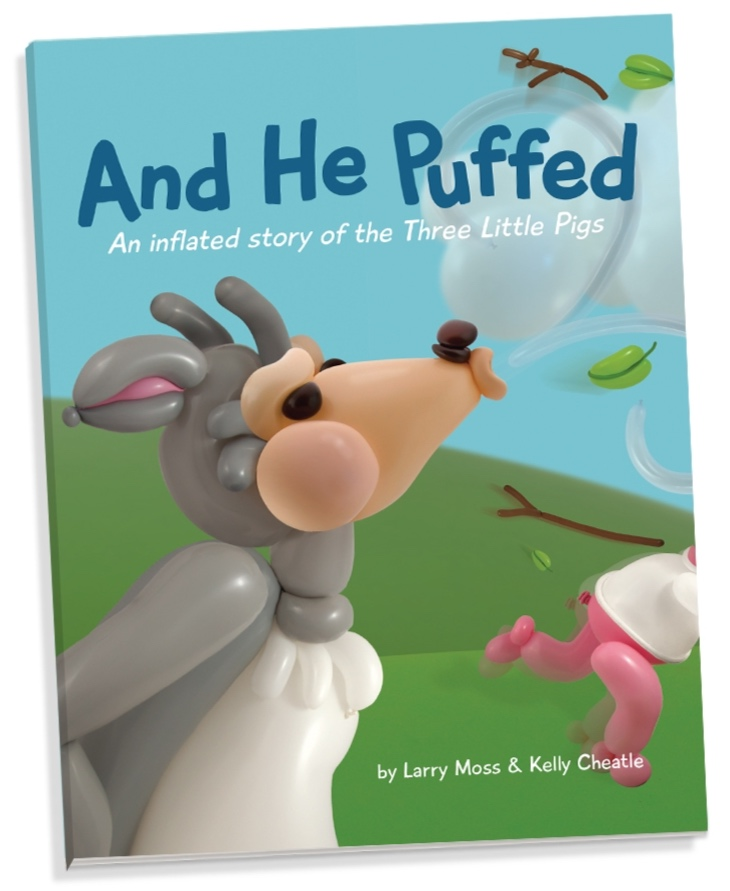 A modern retelling of the old tale of  The Three Little Pigs , fully illustrated with Airigami artwork.