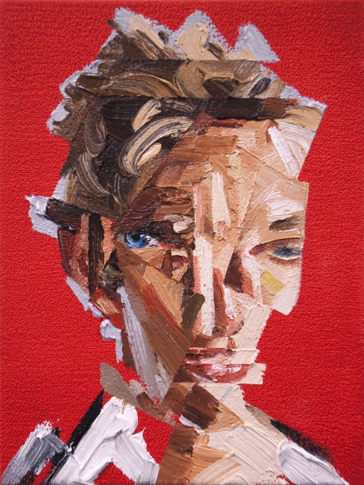 Self Portrait Red