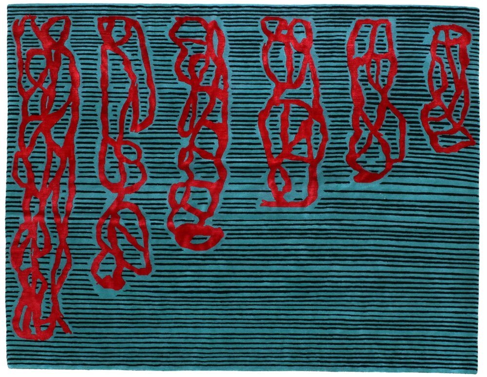 High Res, Lasker, Jonathan, untitled, 2011, edition of 15, Tibetan wool and silk, 47 x 60 inches.jpg