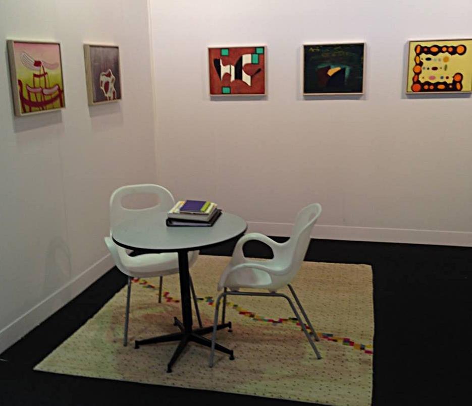 Early work by Thomas Nozkowski at Volta, New York